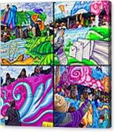 Mardi Gras Fun Acrylic Print