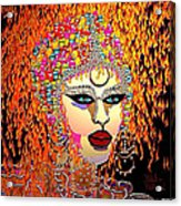 Mardi Gras Acrylic Print by Natalie Holland