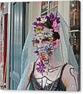 Mardi Gras Voodoo In New Orleans Acrylic Print by Louis Maistros