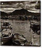 Mare Mediterraneo Acrylic Print