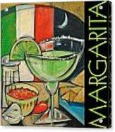 Margarita Poster Acrylic Print