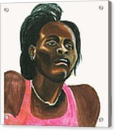 Maria Mutola Acrylic Print
