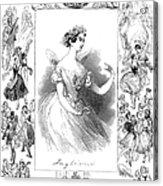 Marie Taglioni (1804-1884) Acrylic Print