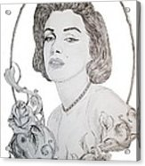 Marilyn 2 Acrylic Print