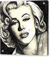 Marilyn Monroe Acrylic Print by Debbie DeWitt