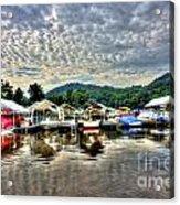 Marina At Cheat Lake Acrylic Print