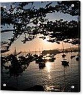 Marina At Sunrise Acrylic Print