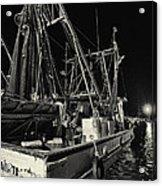 Marina Shipyard Texas Gulf Coast Acrylic Print