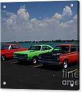 Marine City Car Show Acrylic Print