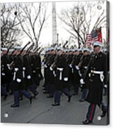 Marines Participate In The 2009 Acrylic Print