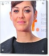 Marion Cotillard At Arrivals For Little Acrylic Print