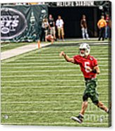 Mark Sanchez Ny Jets Quarterback Acrylic Print