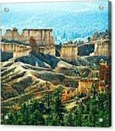 Markagunt Plateau In Zion National Acrylic Print