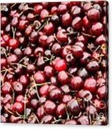 Market Cherries Acrylic Print