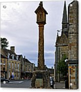 Market Cross - Stow-on-the-wold Acrylic Print