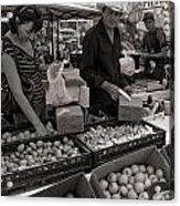 Market Days Choices Acrylic Print