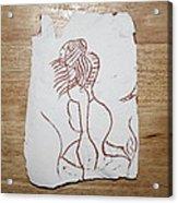 Market Seller 5 Acrylic Print