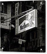 Marlboro In Hong Kong Acrylic Print
