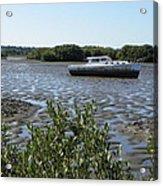 Marooned At Cedar Key 1 Acrylic Print