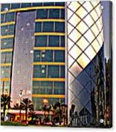 Marriott Evening Acrylic Print