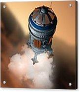 Mars Exploration, Artwork Acrylic Print