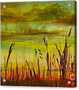 Marsh View Acrylic Print
