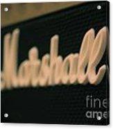 Marshall Amp  Acrylic Print