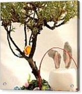 Marshmallow Bunny Acrylic Print