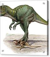 Marshosaurus Bicentesimus Acrylic Print
