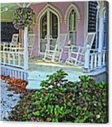 Marthas Vineyard Cottage Acrylic Print