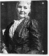 Mary Jones (1830-1930) Acrylic Print