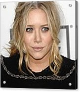 Mary Kate Olsen At Arrivals Acrylic Print by Everett