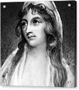 Mary Tighe (1772-1810) Acrylic Print