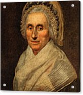 Mary Washington - First Lady  Acrylic Print by International  Images