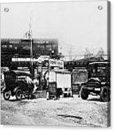 Maryland: Gas Station, C1921 Acrylic Print