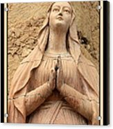 Mary's Prayers Acrylic Print