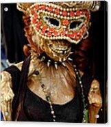 Mask Ball Acrylic Print