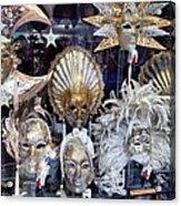 Masks in Venice Italy Acrylic Print