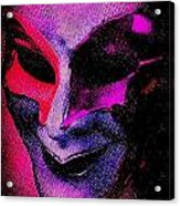 Masks We Hide Behind Acrylic Print