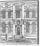 Masonic Hall, C1830 Acrylic Print