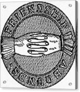 Masonic Symbol Acrylic Print