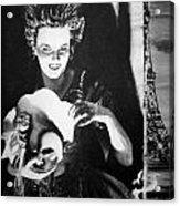 Masque Of Evil Acrylic Print