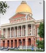 Massachusetts State House I Acrylic Print