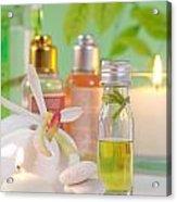 Massage Spa Concepts Acrylic Print