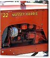 Massey Harris Details Acrylic Print