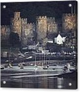 Massive Eight-towered Castle Looms Acrylic Print