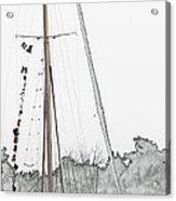 Mast Head Acrylic Print