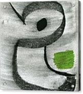 Mastec Hate Acrylic Print