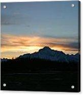 Matanuska Sunrise Acrylic Print