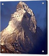 Matterhorn Morning-2 Acrylic Print